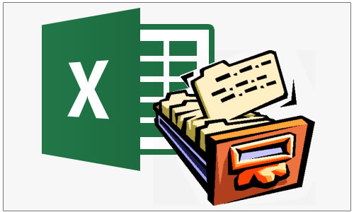 Каталог в программе Excel