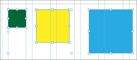 Как выравнять объекты в Adobe Muse-5